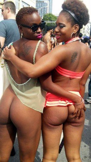 Real African nudist