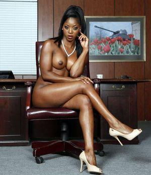 Ebony Bukkake