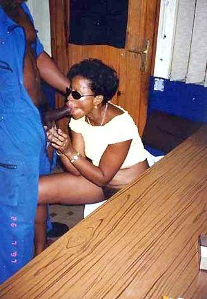 Black mom nude